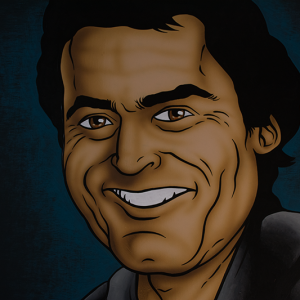 Illustration - Ted Bundy Portrait