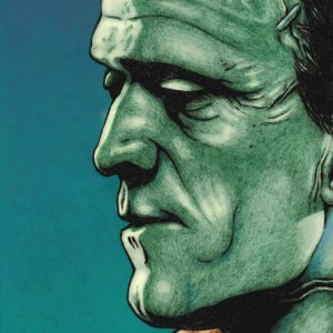 illustration - frankensteins monster portrait